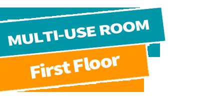 Multi-use room high floor -Park Farm Community Centre