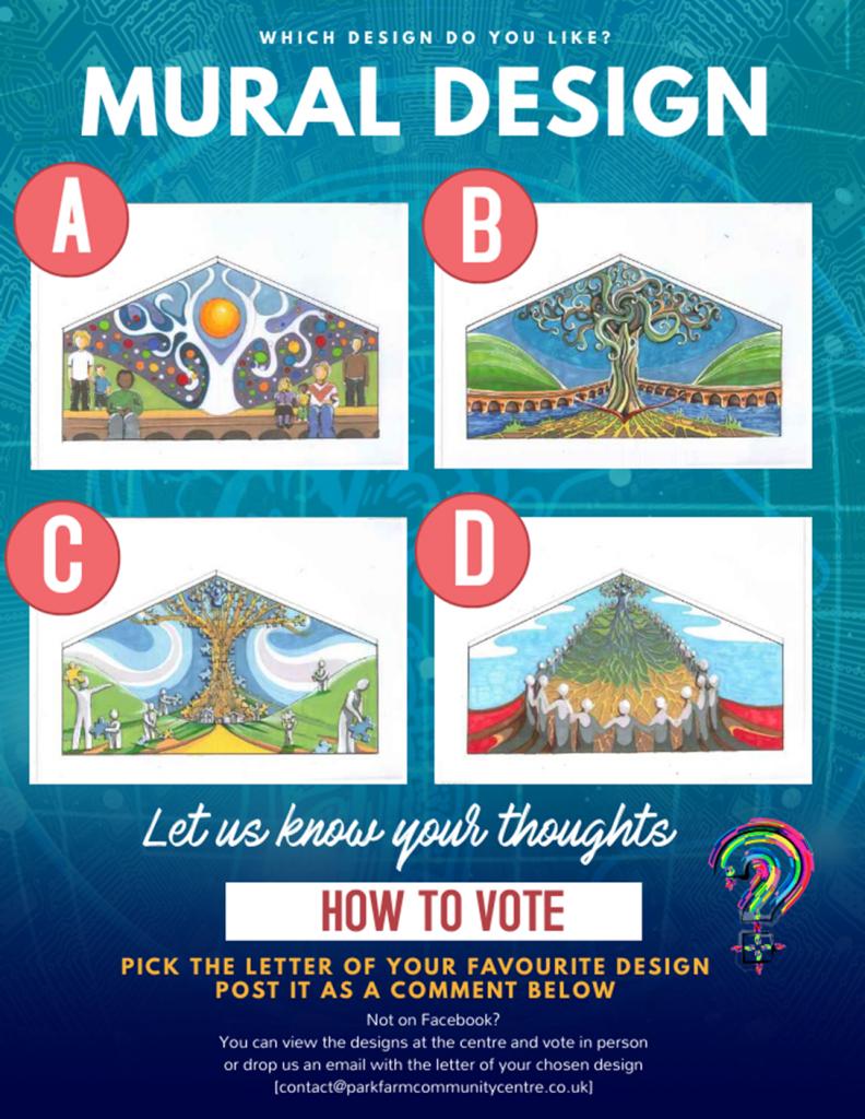 Mural Design Poll-Park Farm Community Centre