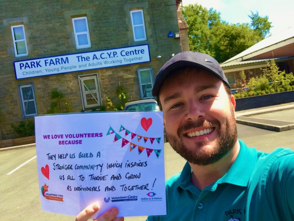 Volunteer are important because- Park Farm Community Centre
