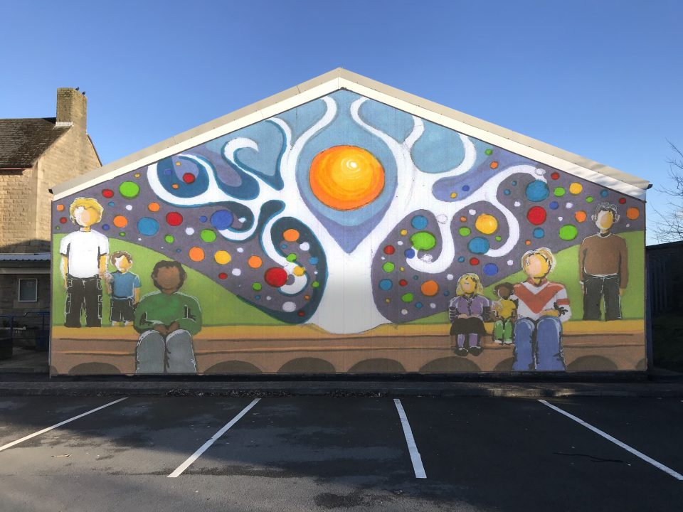 Mural Future-Park Farm Community Centre