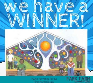 MURAL WINNER-Park Farm Community Centre